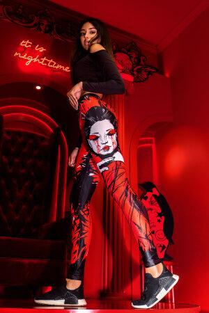 """Лосины Bona Fide: Bona Classic """"Geisha"""""""