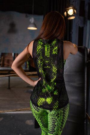 """Майка Bona Fide: Shirt Classic Cobra """"Neon Green"""""""