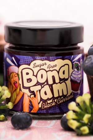 Bona Diet - Bona Jam - Черная смородина