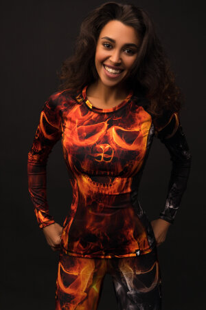 "Рашгард Bona Fide: Rashguard ""Road to Hell"""